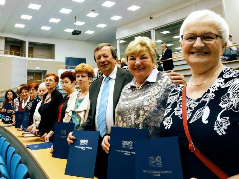 Promoce VU3V v Praze